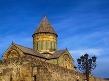 Svetitskhoveli Orthodoxe Kathedraal, Mtskheta, Georgië Royalty-vrije Stock Afbeelding