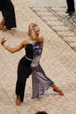 Svetlana Gudyno - bailarín latino Fotos de archivo