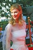 Svetlana Ivanova przy Moskwa Ekranowym festiwalem Obrazy Royalty Free