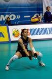 Svetlana Kryuchkova. Libero of Dynamo Moscow Stock Image