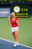 Svetlana Kuznetsova. At WTA Dubai 2008 Royalty Free Stock Photo
