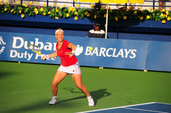 Svetlana Kuznetsova. At WTA Dubai 2008 Stock Images