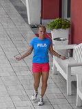 Svetlana Kuznetsova- - Internazionali-BNL d'Italia Lizenzfreie Stockbilder