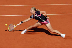 Svetlana Kuznetsova (RUS) at Roland Garros 2009 Royalty Free Stock Photography