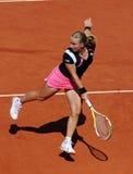Svetlana Kuznetsova (RUS) at Roland Garros 2009 royalty free stock images
