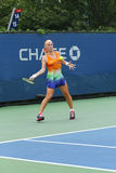 Svetlana Kuznetsova from Russia during  US Open 2013 third round match Stock Photos
