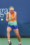 Svetlana Kuznetsova from Russia during  US Open 2013 third round match Royalty Free Stock Image
