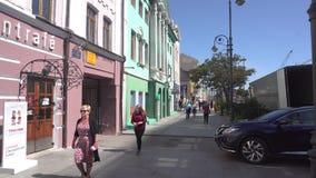 Svetlanskaya街 影视素材
