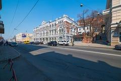 Svetlanskaya street view. Stock Images
