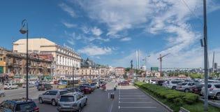 Svetlanskaya street view. Stock Image