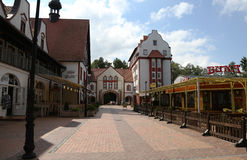 Svetlogorsk jusqu'en 1947 - Rauschen, région de Kaliningrad Photos libres de droits