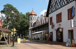 Svetlogorsk jusqu'en 1947 - Rauschen, région de Kaliningrad Images stock