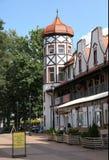 Svetlogorsk jusqu'en 1947 - Rauschen, région de Kaliningrad Photographie stock libre de droits