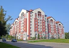 Svetlogorsk, Russia ` Della polvere di oro del ` della proprietà nuovi degli alloggi Fotografie Stock