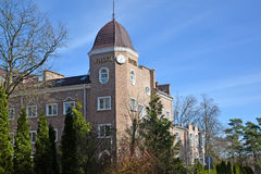 SVETLOGORSK, RUSSIA. Royal Falke Resort hotel in sunny day Royalty Free Stock Photography