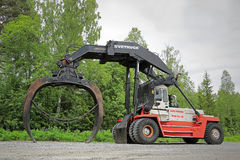 Svetruck TMF 25-18 Forest Industry Logstacker Stock Fotografie