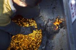 Svetsat klipphål Royaltyfri Foto