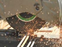 Svetsning- och klipputrustning royaltyfria foton