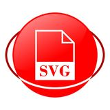 Svg file vector illustration, Red icon. Red icon, svg file vector illustration vector illustration