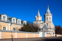 Sviato-Troitskyi Monastery in Korets. Rivne region. Ukraine Stock Image
