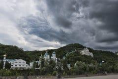 Sviatohirsk Lavra в мае Стоковое Изображение