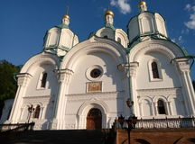 Sviatohirsk Lavra Chiesa Tempio Fotografia Stock Libera da Diritti