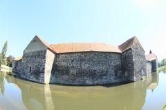 Svihov castle behind moat Royalty Free Stock Photos