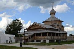 Svijazhsk. Εκκλησία τριάδας του ST John το βαπτιστικό μοναστήρι Στοκ φωτογραφίες με δικαίωμα ελεύθερης χρήσης