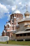 Svijazhsk Καθεδρικός ναός της κυρίας μας όλων στενοχωρημένο και του Trinit Στοκ φωτογραφία με δικαίωμα ελεύθερης χρήσης