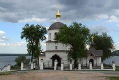 Svijazhsk. Ναός των Αγίων Constantine και Helena Στοκ Φωτογραφία