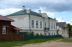 Svijazhsk, οδός Moskovskaya Στοκ φωτογραφία με δικαίωμα ελεύθερης χρήσης