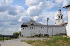 Svijazhsk. Holy Dormition Monastery, summer view royalty free stock image