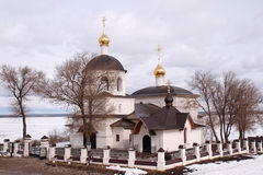 Svijazhsk. Russia. The temple of saints Konstantin and Helena. Royalty Free Stock Photo