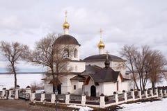 Svijazhsk. Russia. The temple of saints Konstantin and Helena. Royalty Free Stock Photo