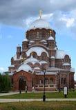 Svijazhsk ST John το βαπτιστικό μοναστήρι, καθεδρικός ναός του παλληκαριού μας Στοκ εικόνες με δικαίωμα ελεύθερης χρήσης