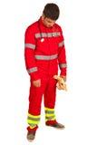Sviken person med paramedicinsk utbildning Arkivfoto