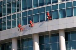 Sviluppando completamente consistere delle finestre di vetro Immagini Stock