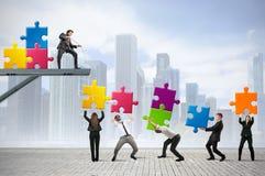 Sviluppi una nuova società Immagini Stock