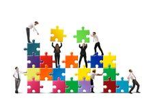 Sviluppi una nuova società Immagini Stock Libere da Diritti