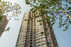 Sviluppo alto cinese Spac vivente del Highrise della costruzione di appartamento Fotografia Stock Libera da Diritti