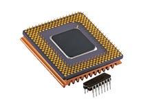 Sviluppo del microchip Fotografia Stock