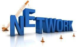 Sviluppo della rete Immagine Stock