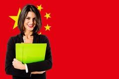 Sviluppo di affari della Cina Immagini Stock