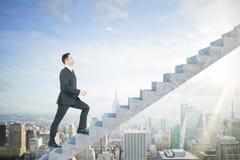 Sviluppo di carriera e concetto di promozione immagine stock