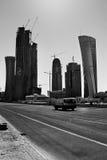 Sviluppo di Doha Fotografie Stock Libere da Diritti