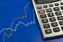 Sviluppo di Finacial. Fotografia Stock Libera da Diritti