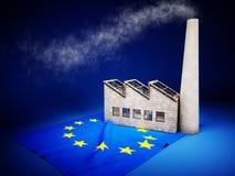 Sviluppo di industria di UE Fotografia Stock Libera da Diritti
