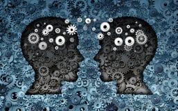 Sviluppo di neuroscienza di addestramento Immagini Stock