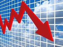 Sviluppo finanziario Immagine Stock Libera da Diritti