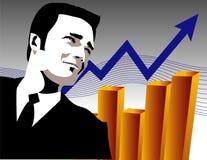 Sviluppo finanziario illustrazione di stock
